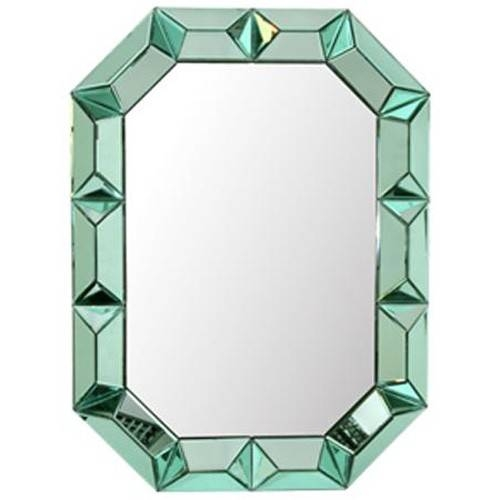 Bungalow 5 Romano Wall Mirror – Green | Candelabra, Inc (View 8 of 15)