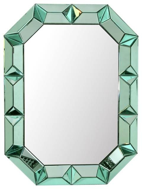 Bungalow 5 Romano Wall Mirror In Amethyst – Contemporary – Wall For Green Wall Mirrors (View 12 of 15)