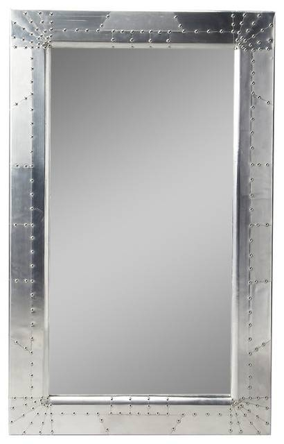 Butler Midway Aviator Wall Mirror – Industrial – Wall Mirrors – Inside Industrial Wall Mirrors (#5 of 15)