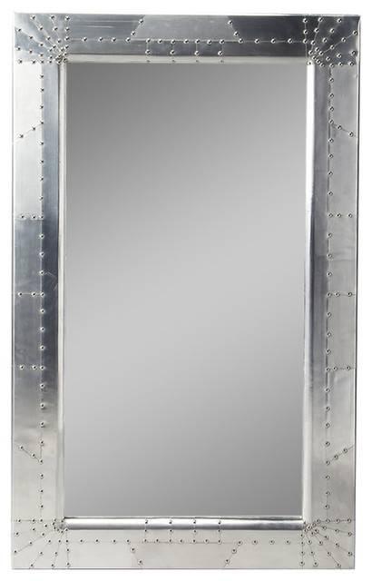 Butler Midway Aviator Wall Mirror – Industrial – Wall Mirrors – Inside Industrial Wall Mirrors (View 5 of 15)