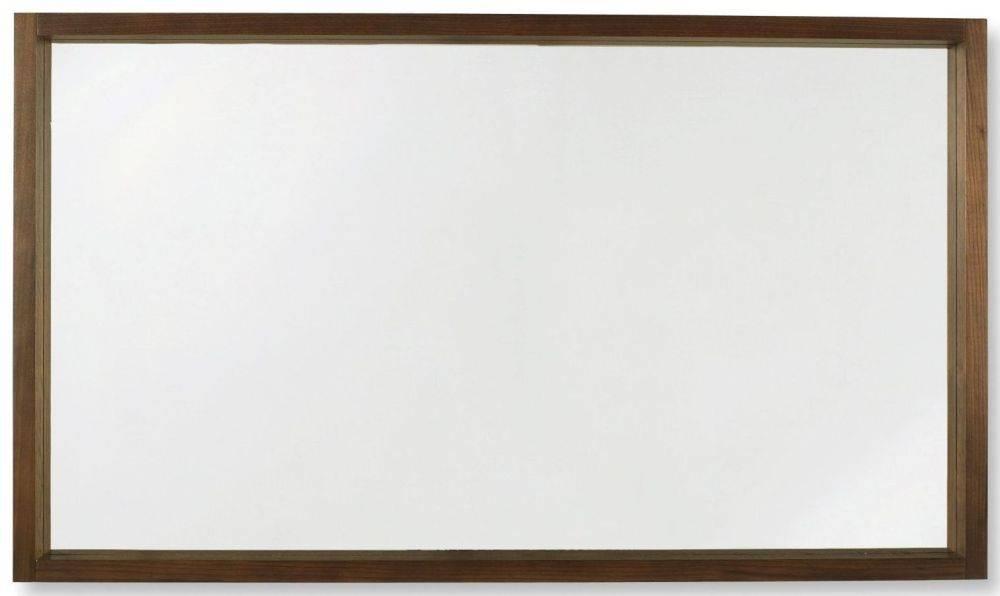 Buy Bentley Designs Akita Walnut Wall Mirror Online – Cfs Uk Throughout Walnut Wall Mirrors (#2 of 15)