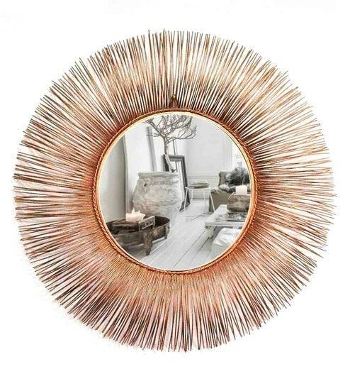 Buy Copper Glass And Metal Leron Wall Mirrorvenetian Design For Copper Wall Mirrors (View 15 of 15)
