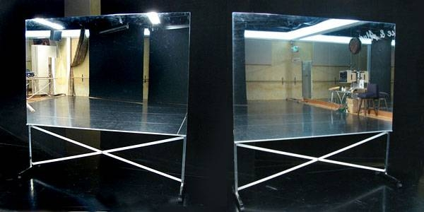 Buy Glassless Dance Mirrors On Wheels, Portable And Rollable For With Regard To Movable Mirrors (View 15 of 15)