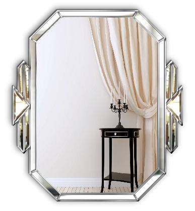 Buy Tiffany Art Deco Wall Mirror From Mirror Mania | Shop #sbs Within Deco Wall Mirrors (#8 of 15)