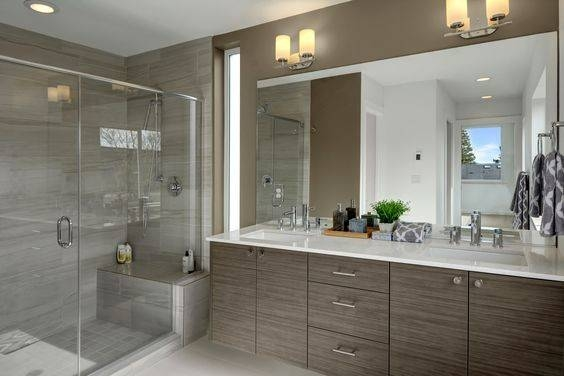 Calle Sirena Bath Remodel   Courtney Thomas Design Regarding Seattle Custom Mirrors (View 14 of 15)