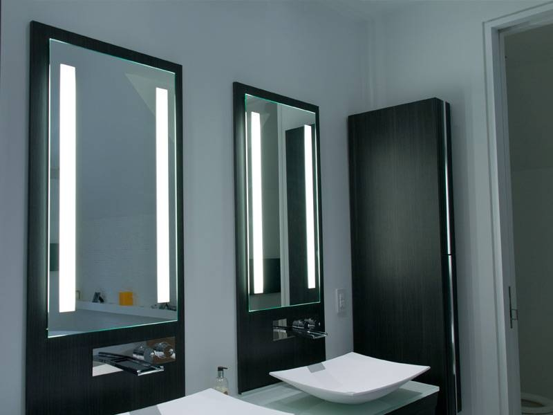 Charming Lighted Bathroom Mirror Lighted Bathroom Mirror Can Light Regarding Light Up Bathroom Mirrors (#10 of 15)