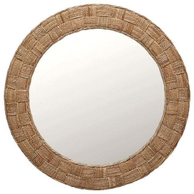Checkered Mirror – Tropical – Wall Mirrors – Other Kouboo With Regard To Tropical Wall Mirrors (View 5 of 15)