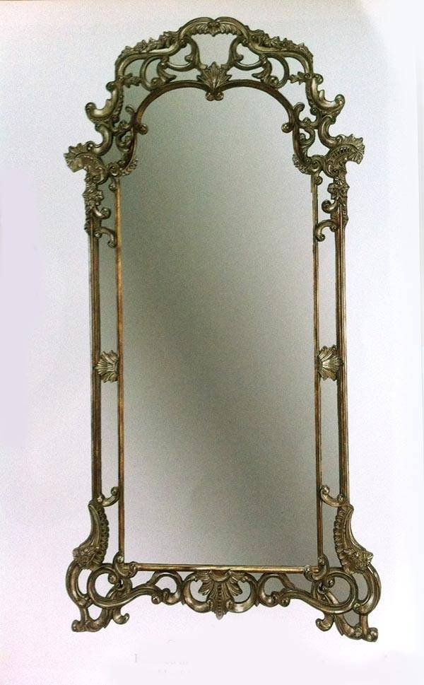 Classic Victorian Floor Mirror | Hallway Regarding Victorian Wall Mirrors (View 15 of 15)