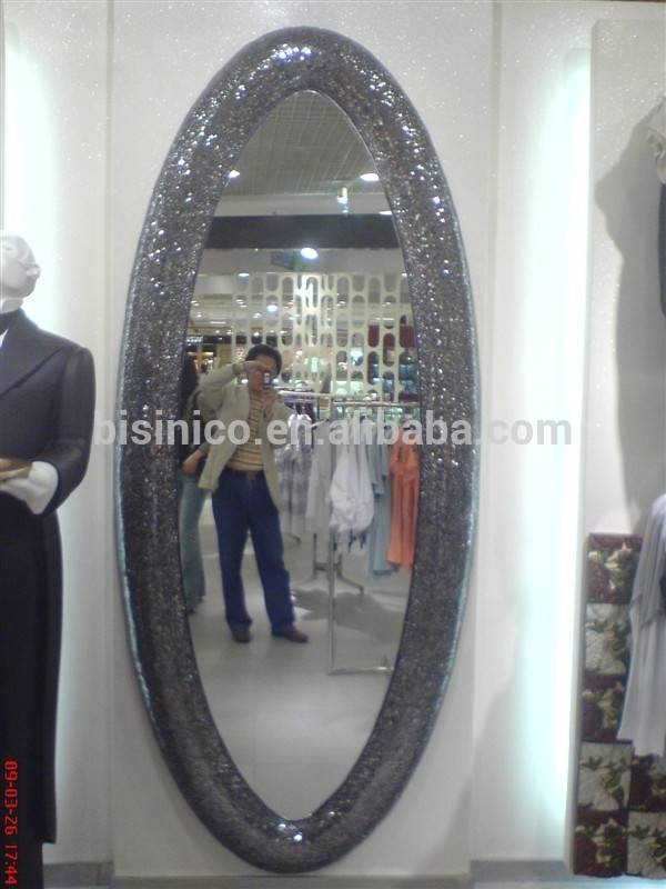 Classical Design Oval Decorative Dressing Mirror,european Royal Regarding Full Length Oval Wall Mirrors (#3 of 15)