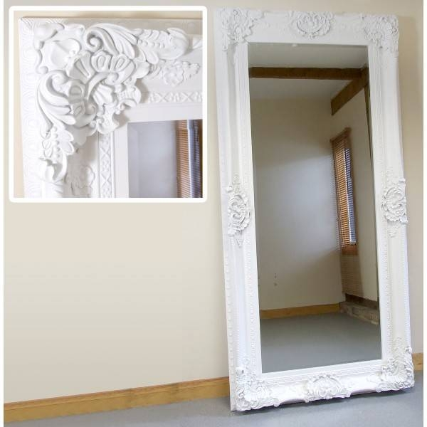 Classy 70+ White Full Length Wall Mirror Design Inspiration Of With Regard To Decorative Full Length Wall Mirrors (#3 of 15)