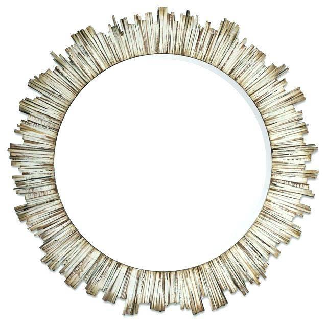 Coastal Style Wall Mirrors Coastal Shutter Mirror Sanibel White Inside Coastal Wall Mirrors (#8 of 15)
