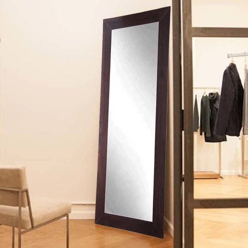 Commercial Value Fitting Room Full Length Wall Mirror & Reviews With Regard To Wall Mirrors Full Length (#4 of 15)