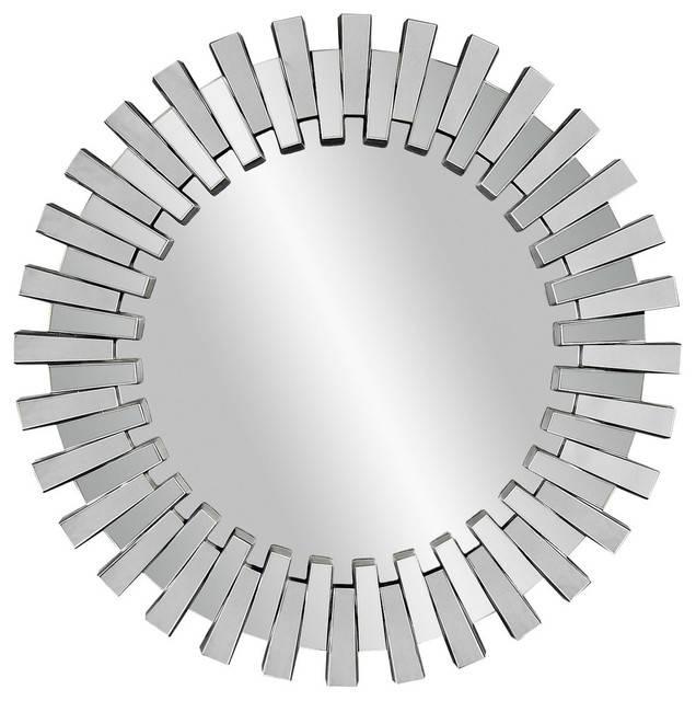 Contempo Baka Wall Mirror – Modern – Wall Mirrors  Bassett Inside Modern Wall Mirrors (#4 of 15)