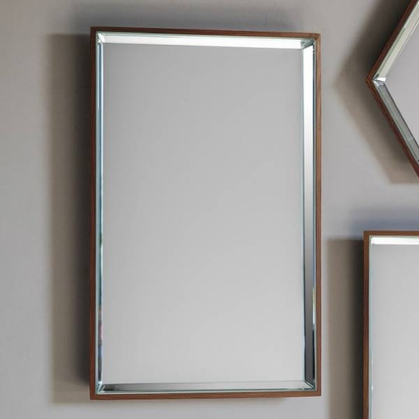 15 best of modern rectangular wall mirrors for Modern mirrors for dining room