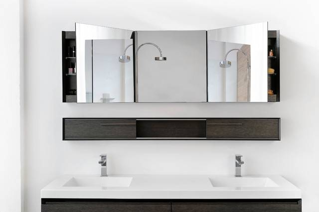 Cool Modern Bathroom Mirrors Modern Bathroom Mirrors Wall Mirror Pertaining To Modern Bath Mirrors (View 3 of 15)
