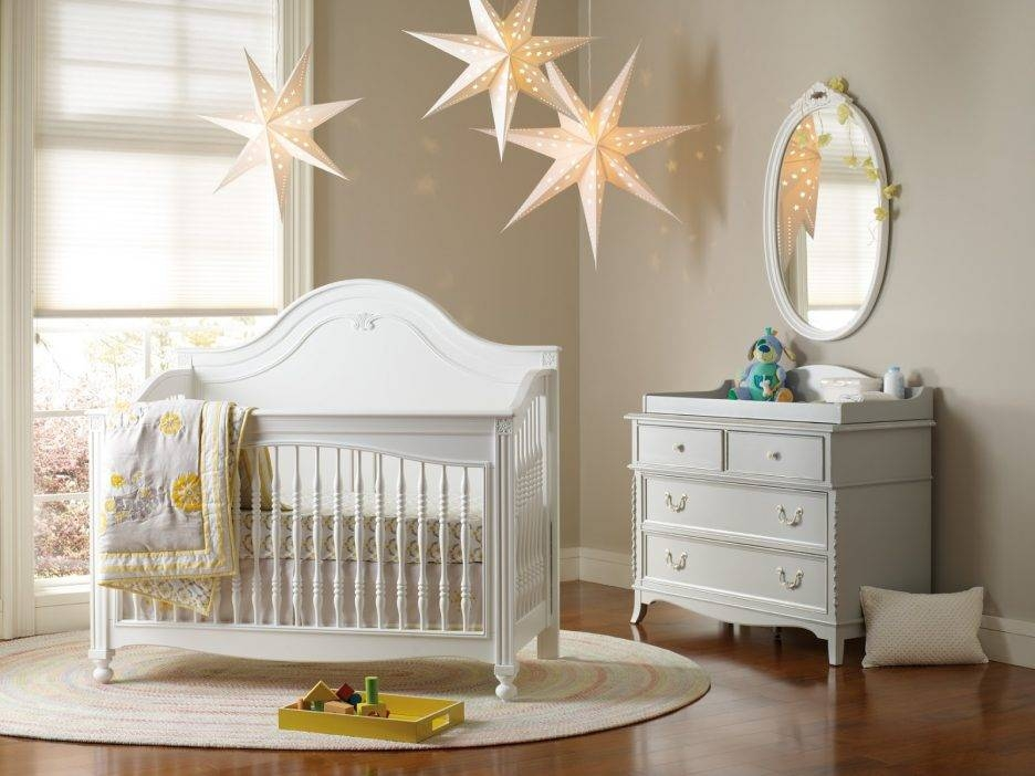 Cool White Baby Boy Nursery Beside White Makeup Mirror And Oval With Regard To Baby Wall Mirrors (#12 of 15)