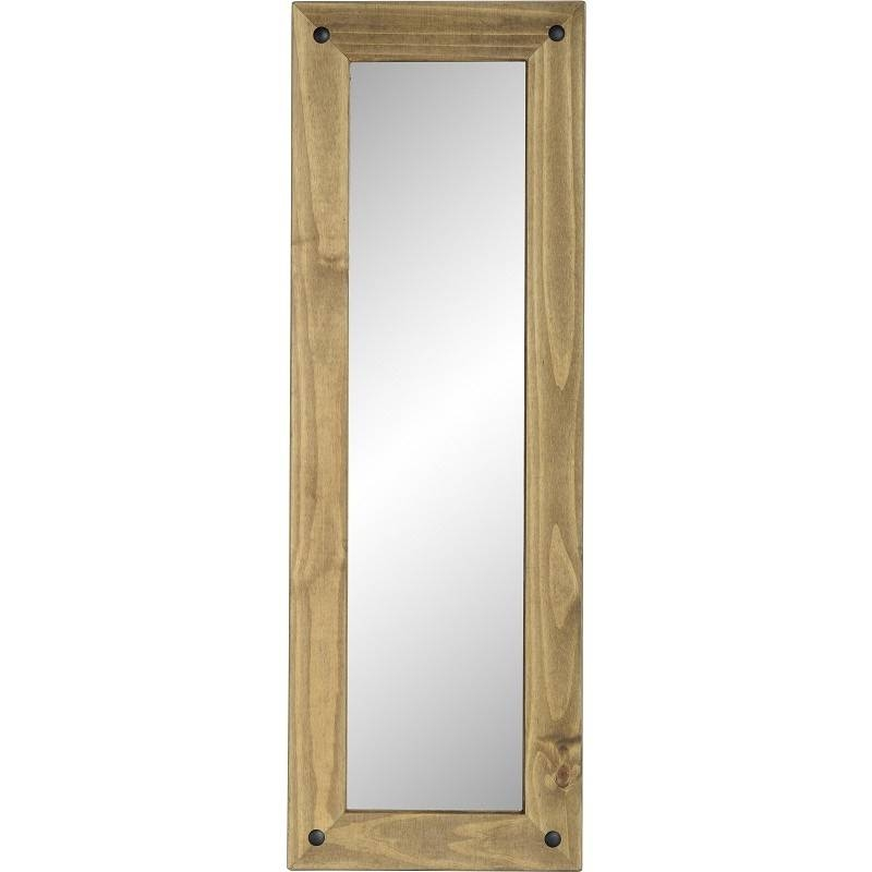 Corona Pine Tall Wall Mirror – Default Store View Furniture Value With Pine Wall Mirrors (#6 of 15)