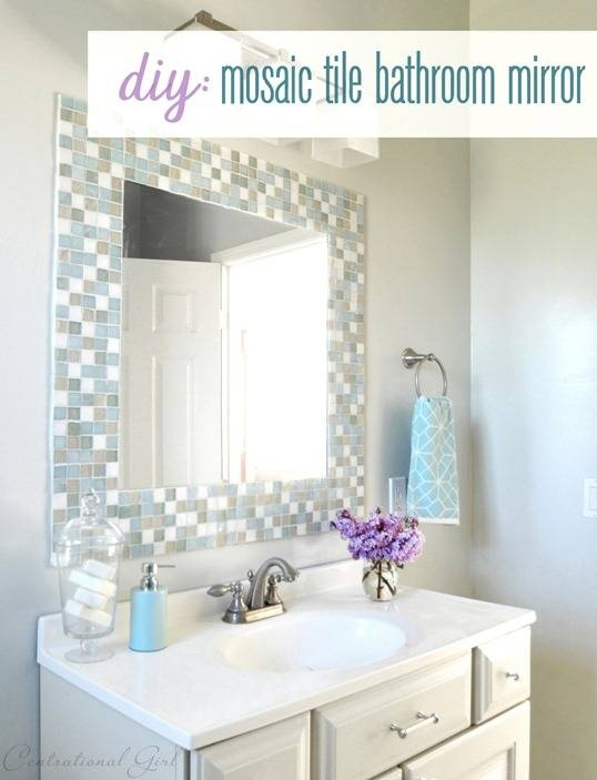 stick on frames for bathroom mirrors 15 ideas of stick on wall mirror tiles 25777