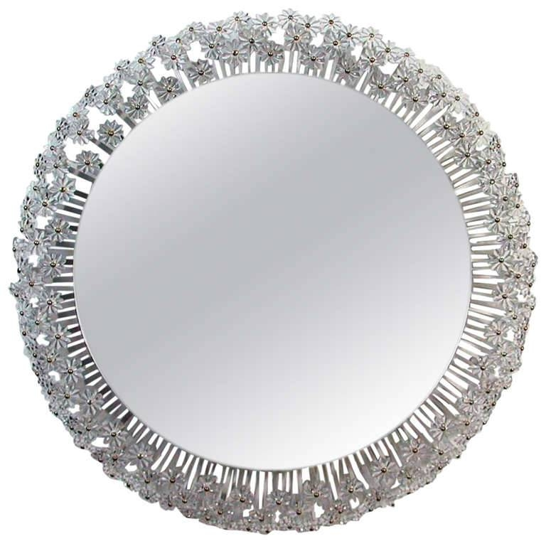Crystal Mirrors | Inovodecor Pertaining To Crystal Wall Mirrors (#4 of 15)