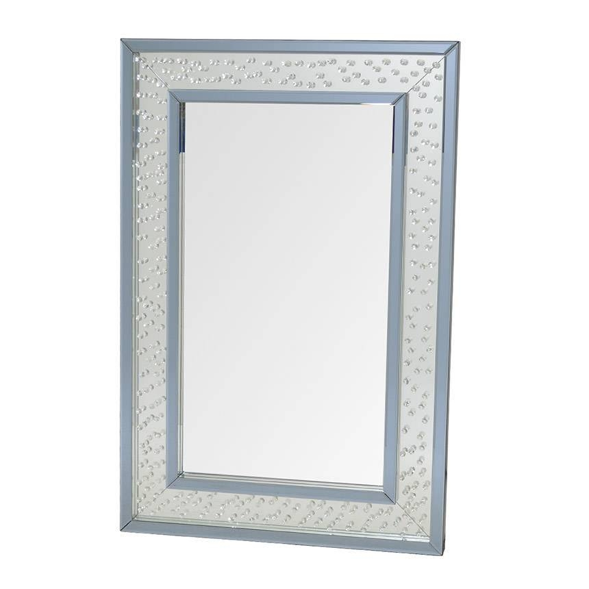 Crystal Wall Mirror | El Dorado Furniture Within Crystal Wall Mirrors (#5 of 15)