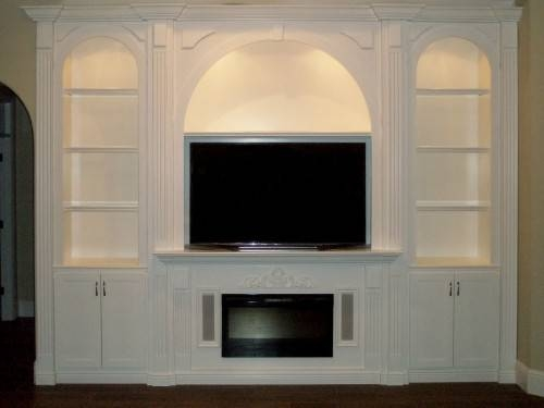 Custom Entertainment Centers – Custom Wall Units Orlando, Fl For Orlando Custom Mirrors (#2 of 15)