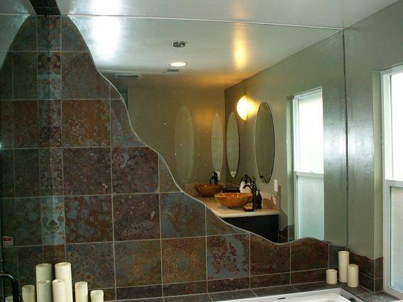 Custom Size Mirrors Bathrooms – Home Design Interior And Exterior In Custom Sized Mirrors (View 14 of 15)