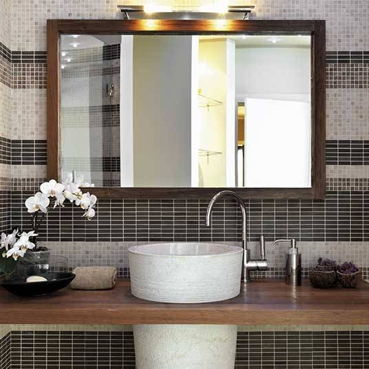 Custom Sized Framed Mirrors, Bathroom Mirrors, Large Decorative Inside Custom Bathroom Mirrors (View 15 of 15)