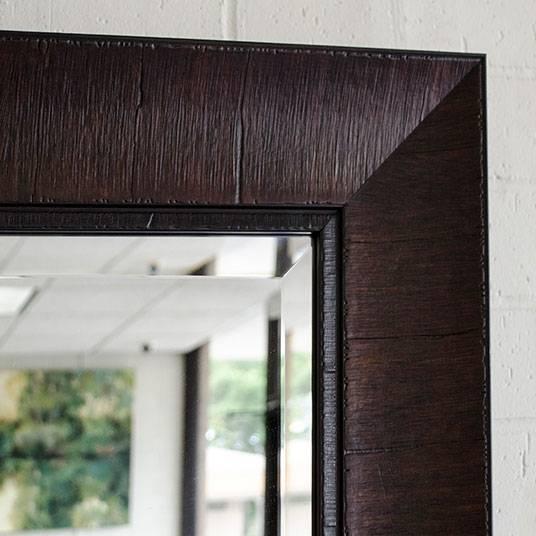Custom Sized Framed Mirrors, Bathroom Mirrors, Large Decorative Regarding Large Wood Framed Wall Mirrors (#6 of 15)
