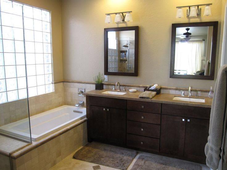 Cute Double Vanity Bathroom Mirrors Formidable Inspirational Inside Double Vanity Bathroom Mirrors (#7 of 15)