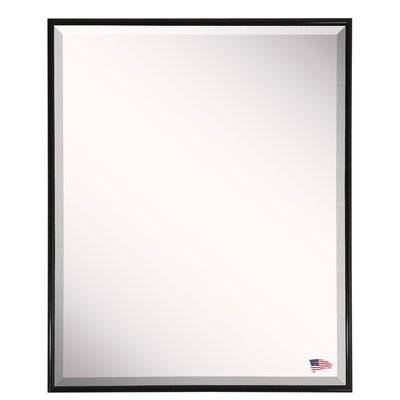 Darby Home Co Rectangle Black Metal Wall Mirror & Reviews | Wayfair Throughout Black Rectangle Wall Mirrors (#7 of 15)
