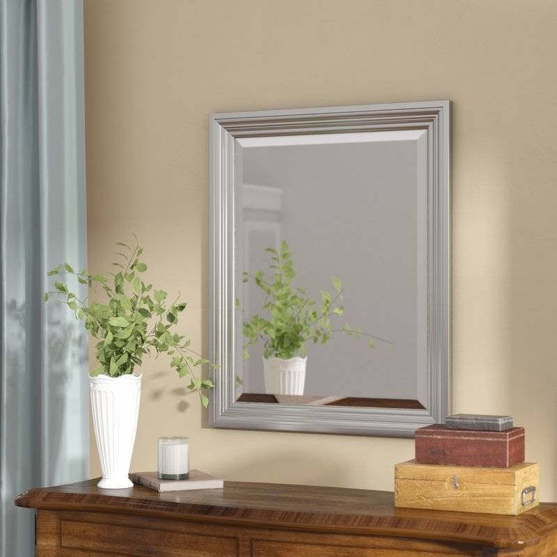 Darby Home Co Rectangle Plastic Beveled Wall Mirror & Reviews For Plastic Wall Mirrors (#4 of 15)
