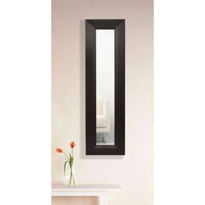 Dark Brown Wood – Mirrors – Wall Decor – The Home Depot In Dark Wood Wall Mirrors (#3 of 15)