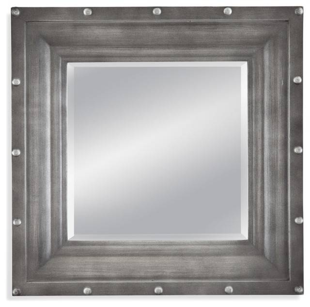 Dayton Wall Mirror – Industrial – Wall Mirrors  Bassett Mirror Co (#7 of 15)