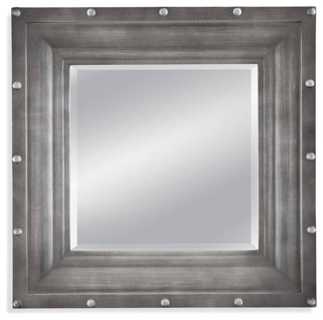 Dayton Wall Mirror – Industrial – Wall Mirrors  Bassett Mirror Co (View 7 of 15)