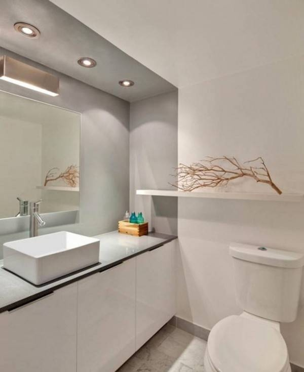 Dazzling Bathroom Wall Mirrors Large With Recessed Lighting Led Intended For Large Bathroom Wall Mirrors (View 11 of 15)