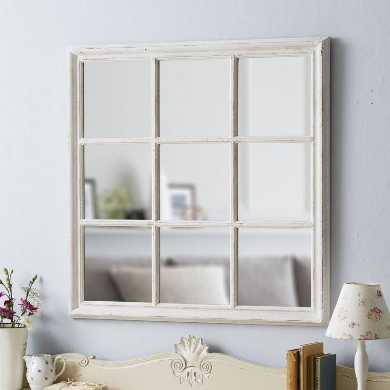 Dcor Design Square Window Wall Mirror & Reviews | Wayfair.co (#7 of 15)