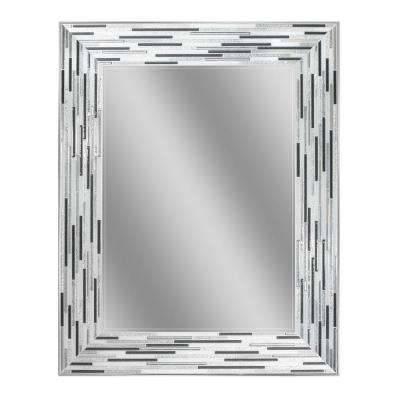 Deco Mirror – Bathroom Mirrors – Bath – The Home Depot Regarding Black And Silver Wall Mirrors (View 8 of 15)