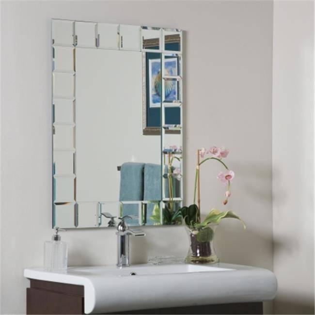 Décor Wonderland Frameless Molten Wall Mirror – 23.5W X  (#6 of 15)