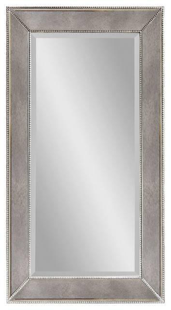 Decorative Large Mirrors, Antique Silver Large Rectangle Wall In Large Rectangular Wall Mirrors (#6 of 15)