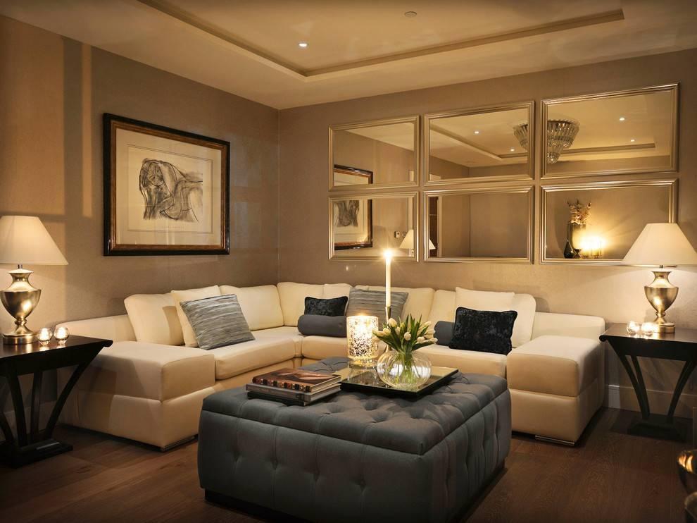 Decorative Living Room Wall Mirrors – Deptrai (#3 of 15)