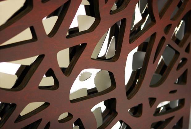 Decorative Mirror Wood Interior Design Decor – Artsigns Interiors Regarding Decorative Wooden Mirrors (#11 of 15)