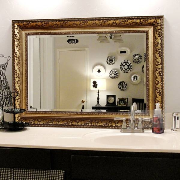 Inspiration about Decorative Mirrors For Bathrooms,wall Mirrors For Bathroom Inside Decorative Bathroom Wall Mirrors (#5 of 15)