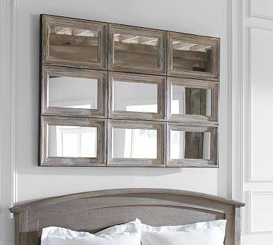 Decorative Wall Mirror | Pottery Barn With Regard To Xl Wall Mirrors (#5 of 15)