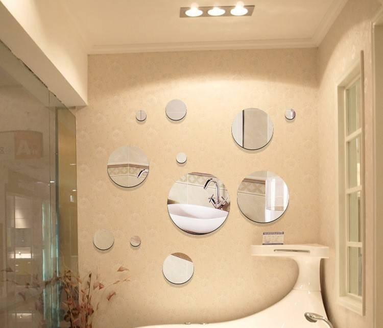 Decorative Wall Mirror Sets Ideas : Designs Of Wall Mirror Decor With Small Decorative Wall Mirrors (View 8 of 15)