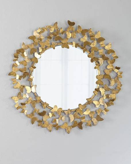 Decorative Wall Mirrors & Floor Mirrors At Horchow Inside Decorative Wall Mirrors (#5 of 15)