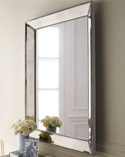Decorative Wall Mirrors & Floor Mirrors At Horchow Inside Mirrored Wall Mirrors (View 9 of 15)