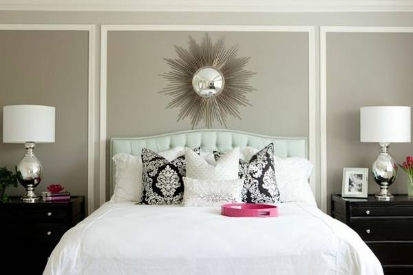 Decorative Wall Mirrors For Bedroom Wonderful In The 13 – Deptrai (#13 of 15)