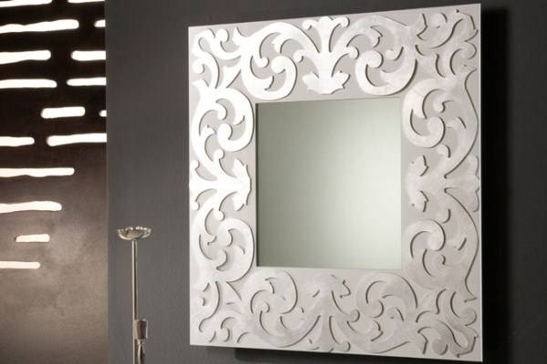 Decorative Wall Mirrors | Framed, Frameless | Bathroom, Living Room In Decorative Framed Wall Mirrors (#7 of 15)