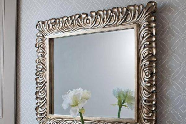 Decorative Wall Mirrors | Framed, Frameless | Bathroom, Living Room With Regard To Decorative Framed Wall Mirrors (#8 of 15)
