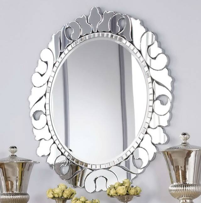 Decorative Wall Mirrors Wood Frame | Home Design Ideas Inside Decorative Cheap Wall Mirrors (View 6 of 15)
